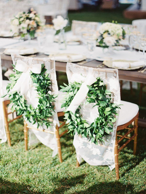 Adorable chair decoration ideas! - weddingfor1000.com