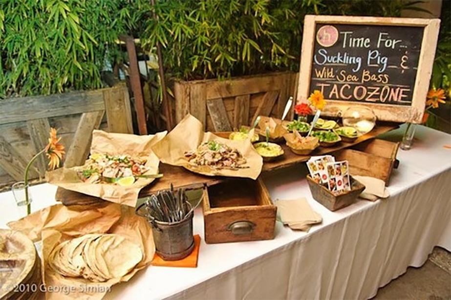 Try a Taco Wedding Bar for Some Fiesta Fun!