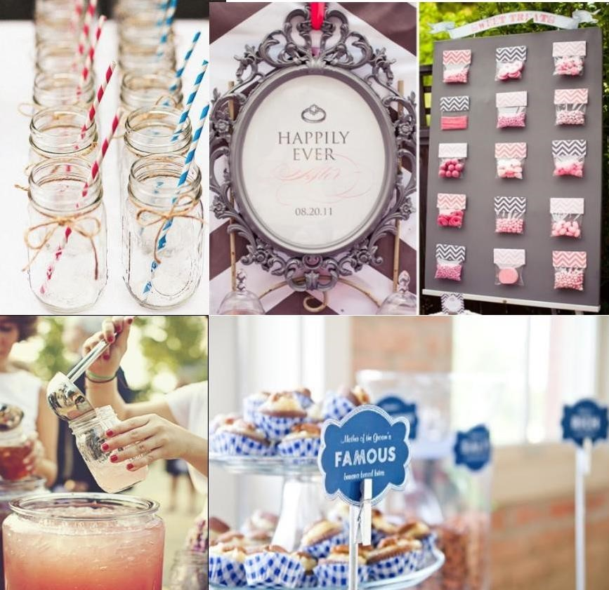 fun and beautiful styles for wedding favors - weddingfor1000.com