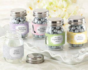 WedFavors Mini Mason Jar