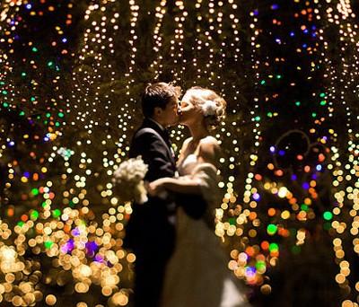 holiday wedding