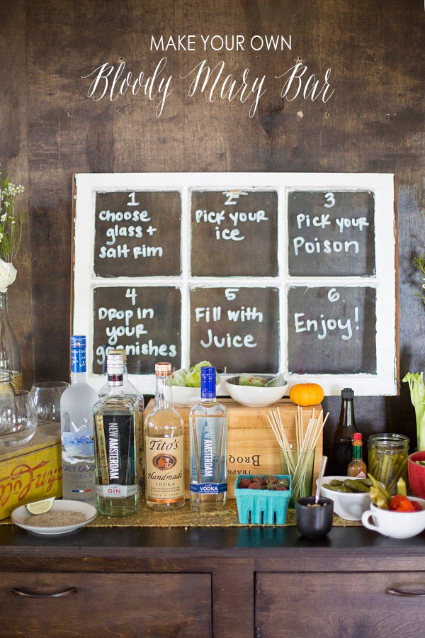 Bloody Mary Bar - DIY Idea