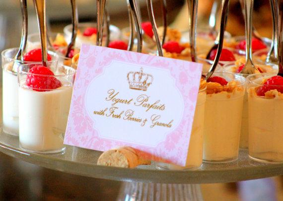 fancy wedding meal cards