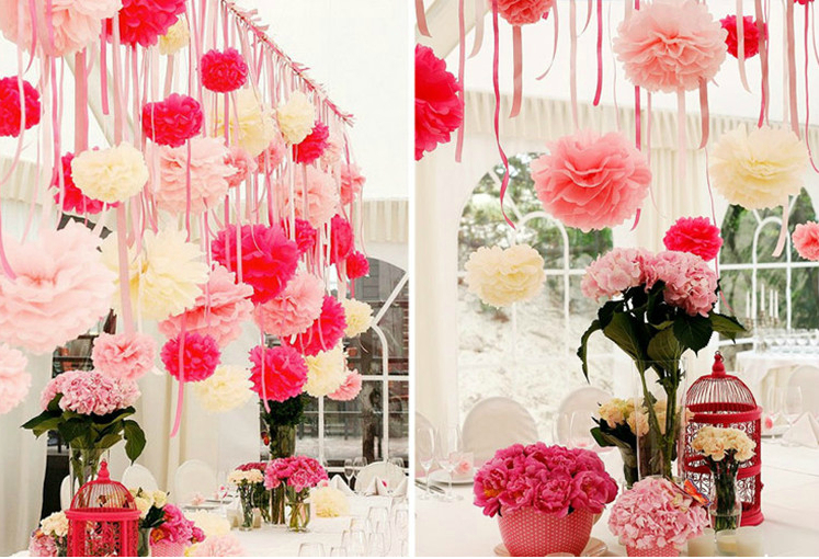 aliexpress paper flower wedding decorations