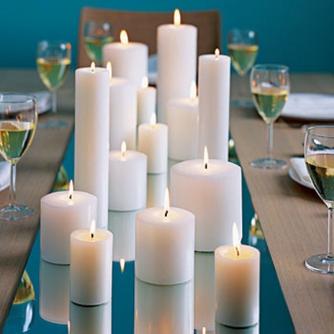 long candle centerpiece