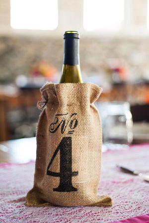 wine bottle with wine - weddingconnection net