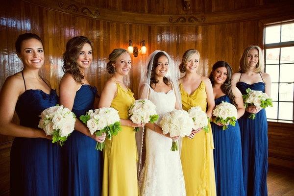 best wedding colors fall 2016 - spicy mustard