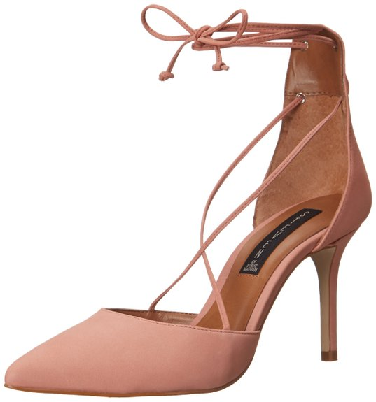 steve madden dusty pink wedding shoes
