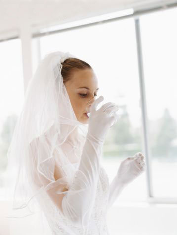 for the best pre-wedding beauty treatment - stay hydrated!