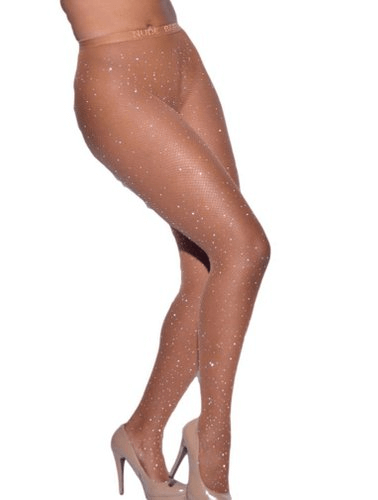 Sparkling stockings make for sexy legs on your wedding day