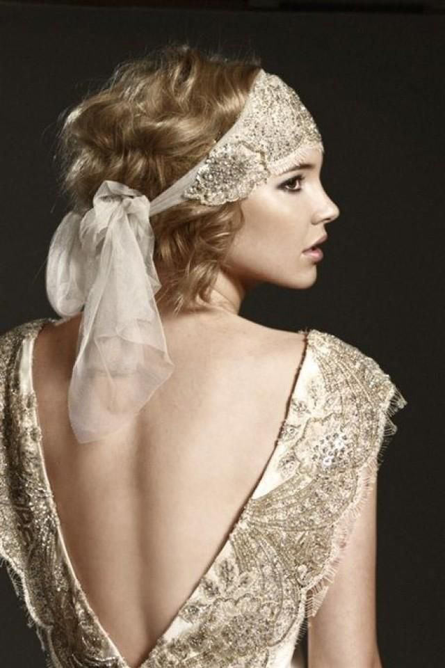 Chic Short Wedding Hair Styles - it's a wrap!