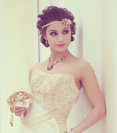 Chic, Modern Short Wedding Hair Styles