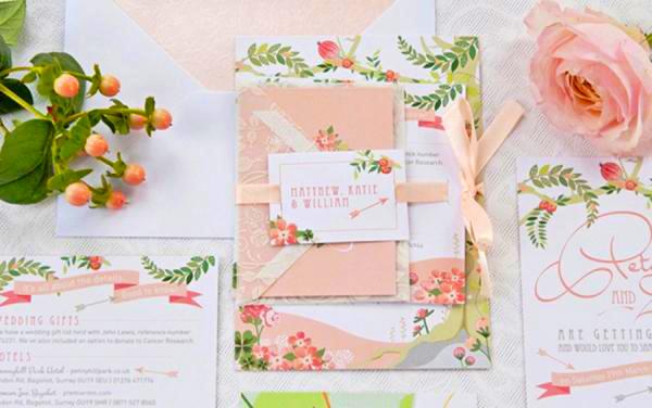 money-saving wedding swaps - switch out the invitations! weddingfor1000.com