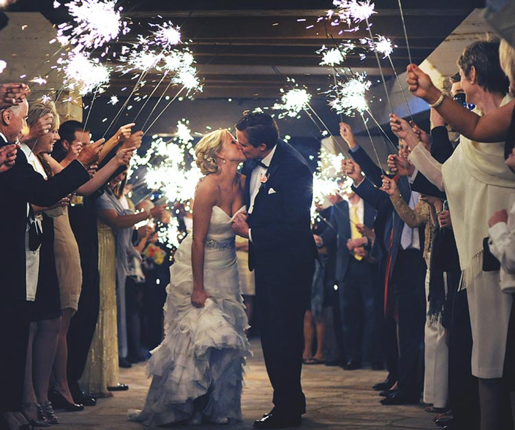 Look Great in Your Wedding Photos - Plan For Perfect Wedding Lighting - weddingfor1000.com