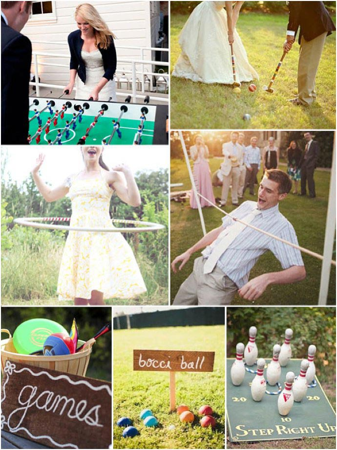 Fun ways to entertain wedding guests - weddingfor1000.com