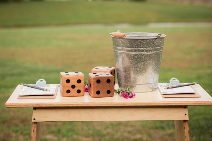 fun ideas for ways to entertain your wedding guests