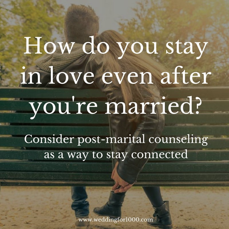 Pre- and Post-Marital Counseling to Keep a Healthy Relationship - weddingfor1000.com