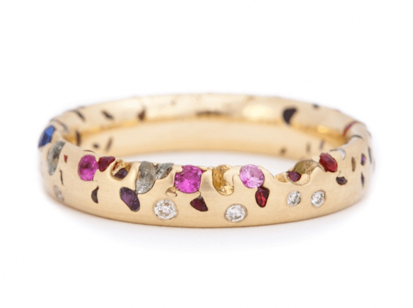 Funky and Fun Engagement Rings for the Modern Bride - weddingfor1000.com