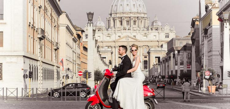 Honeymoon in Rome for Cheap - here's how! weddingfor1000.com