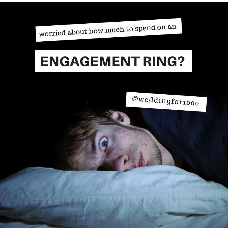 How much should you really spend on an engagement ring? - weddingfor1000.com